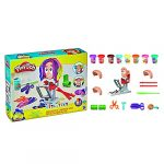 Play-Doh Crazy Cuts Stylist Hair Salon Pretend Play Toy for Kids 3 Years and Up with 8 Tri-Color Cans