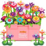 Fivejoy Flower Garden Building Toys for 3 Year Old Girls Boys