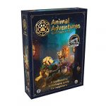Animal Adventures: Starter Set - Beginner's Roleplaying Tabletop Game with Detailed RPG Dog and Cat Miniatures