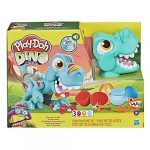 Play-Doh Dino Crew Crunchin' T-Rex Toy for Kids 3 Years and Up with Dinosaur Sounds and 3 Eggs