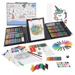 KIDDYCOLOR 211 Piece Deluxe Art Creativity Set Box for Beginners