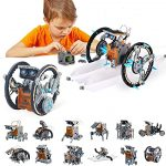 STEM Toy Solar Robot Kit 12-in-1 Learning Science Building Toy for Science kits 10 year old boys