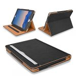 """MOFRED® Black & Tan Apple iPad Air 2 (Launched 2014) Executive Leather Case-Voted by """"The Daily Telegraph"""" as #1 iPad Case! (For iPad Models A1566"""