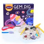 REDO Gemstone Dig Kit – Dig Up 12 Colorful Gems with this Excavation Kit