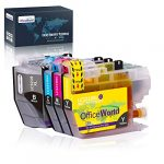 OfficeWorld 3219XL Replacement for Brother LC3219XL LC-3219XL Ink Cartridges Compatible with Brother MFC-J5330DW J5335DW J5730DW J6530DW J6930DW J5930DW J6935DW (1 Black