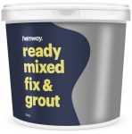 Hemway Premium Ready Mixed Fix and Grout 4.5kg 2.5L (Grey)