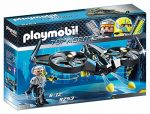 """Playmobil 9253"""" Top Agents Mega Drone with Firing Weapons Toy Set"""