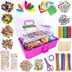 obqo 1405 Pcs Art and Craft Supplies for Kids
