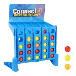 Wangy Connect 4 Shots Game Children's Educational Toys Parent-Child Interaction Table Game Gift For Kids