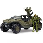 """Halo HLW0016 4""""""""World Deluxe Warthog and Master Chief"""