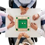 4 Player Shut The Box Wooden Table Board Game