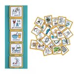 Create Visual Aids Visual Timetable for Home with 35 picture cards to support communication