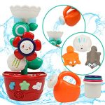 TONZE Baby Bath Toys for 1 2 3 Year Old Toddlers Kids Boys Girls