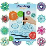 27Pcs The Spirograph Scratch and Shimmer Set