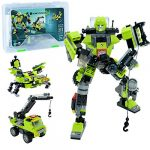 JITTERYGIT Robot Stem Toy | 3 In 1 Fun Creative Set | Construction Building Toys For Boys Ages 7-14 Years Old | Best Toy Gift For Kids | Free Poster Kit Included