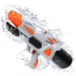 TINLEON Water Gun 2200CC Soaker: Water Blaster Super Squirt 2200CC High-Capacity Gifts up to 36ft Long Shooting Range for Kids Adults Boys Girls