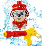 PAW PATROL Marshall Water Blaster Backpack | Portable Water Gun With Adjustable Straps | Fun Outdoor Kids Splashing Toy From Age 3+