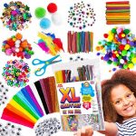 Blue Squid Arts & Craft Supplies for Kids – Easy Store Bag