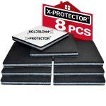 Non Slip Pads X-PROTECTOR - Floor Protector Pads - 8 pcs 100 mm Furniture Pads! Floor Protectors Pads - Rubber Feet – Premium Anti Slip Rubber Pads for Furniture Feet. FIX Furniture in Place!