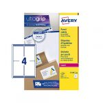 Avery L7169 Self Adhesive Parcel Shipping Labels