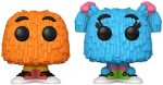 Funko 47761 POP Ad Icons s-2PK (Orange/Blue Pigtails) McDonald's Fry Guy Collectible Toy