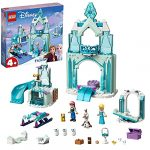 LEGO 43194 Disney Anna and Elsa's Frozen Wonderland Castle Toy with Princess Mini Doll Figures for 4 Years Old Girls and Boys