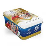 Topps UCL Best of the Best 2021 - Mega Collector Tin - 30 Trading Football Cards Included