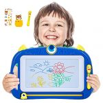 Peradix Magnetic Drawing Board - Writing Doodle Board 4 Colors Pad