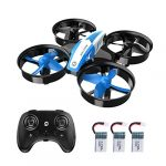 HOLY STONE HS210 Mini Drone for Kids and Beginners RC Nano Quadcopter Indoor Small Helicopter Plane with Auto Hovering