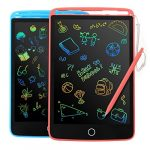 2 Pack LCD Writing Tablet - Colorful Screen Drawing Board 8.5inch Doodle Scribbler Pad Learning Educational Toy - Gift for Kids 2-6 Years Old Boy Girl (2 packs)