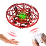 BOMPOW Flying Drone for Kids Hand Drone Hand Operated Helicopter