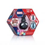 WOW! PODS Avengers Collection - Symbiote Spiderman Limited Edition | Superhero Light-Up Bobble-Head Figure | Official Marvel Toys