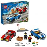 LEGO 60242 City Police Highway Arrest with 2 Car Toys