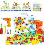 YIJIAOYUN Construction Toys with Drill Set