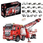 LDB SHOP Technology Remote Controlled Truck Fire Engine Kit