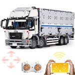 LuoKe Container Truck Building Blocks Model 4166Pcs 4CH RC Luxury Truck Model Toy with 6 Motor Compatible with Lego Technic