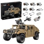 Sunery Technic Off-road Vehicle Building Set for HUMVEE H1